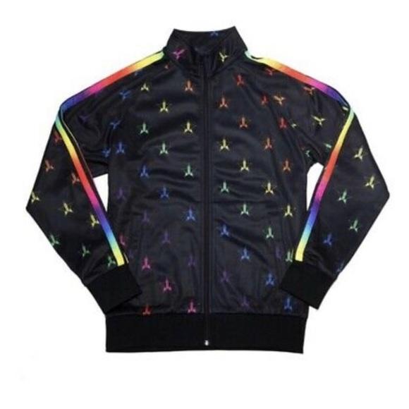 Jeffree Star Cosmetics Rainbow Tracksuit Jacket